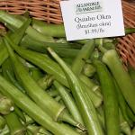 Okra for sale