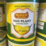 Figure 4. Canned garden egg for sale at a market in Springfield, Mass. in 2015. (Photo by Frank Mangan)