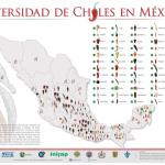 Figure 1. Diversidad de Chiles en Mejico. Integrantes de la Red Chile. SAGARPA, which is the Secretariat of Agriculture, Livestock, Rural Development, Fisheries and Food, similar to the United States Department of Agriculture